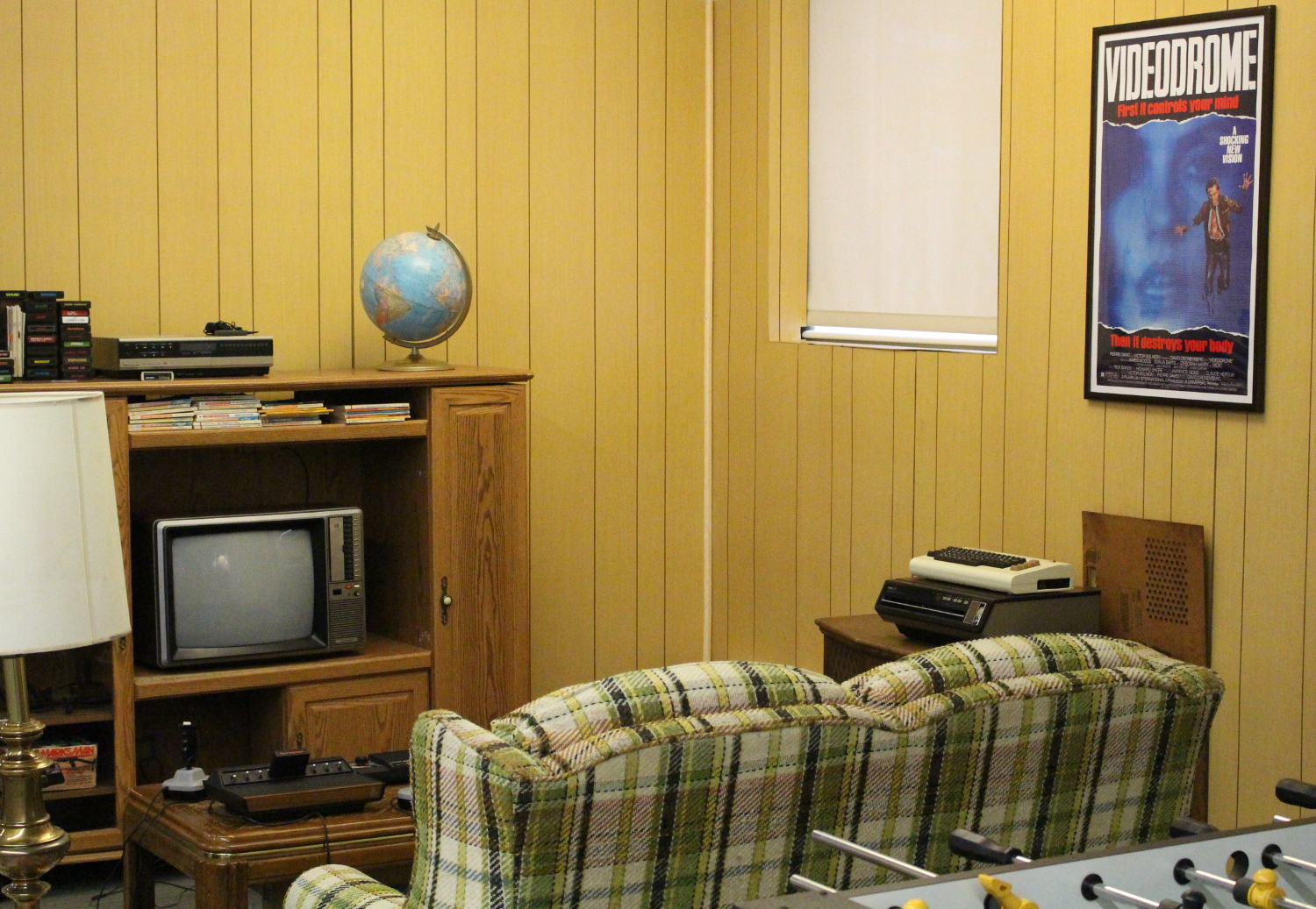 another angle of the console living room at umw